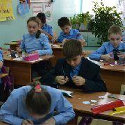 Учащиеся школы-интерната № 29 Уссурийска стали заметнее на дороге! (5 фотографий)