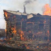 Очередной пожар в Уссурийске обошелся без пострадавших