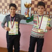 Лучшие шахматисты Уссурийска учатся в 25 школе