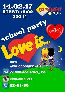 School Party Love is...