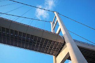 Самый высокий вантовый мост в мире возвели в Китае