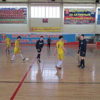 Первенство по мини-футболу в Уссурийске