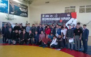 В Уссурийске прошел турнир по греко-римской борьбе