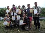 Поздравление клуба юных археологов Резерв