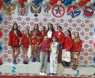 Самбисты из Уссурийска привезли с первенства России золотые и бронзовые медали