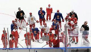 Сборная России по хоккею обыграла чехов в товарищеском матче в Санкт-Петербурге