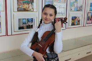 Учащаяся МБУДО «Детская школа искусств Уссурийского городского округа» примет участие в международном конкурсе