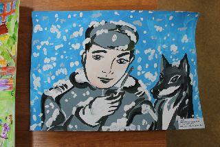 В Уссурийске подвели итоги конкурс детского творчества «Полицейский дядя Степа»