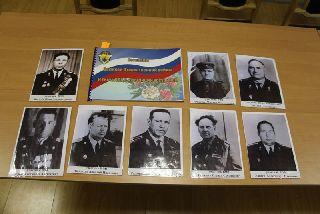 Сотрудники транспортной полиции в память о своих коллегах-фронтовиках прошли с их портретами в колонне «Бессмертного полка»