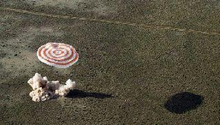 Капсула с космонавтами МКС благополучно села на Землю