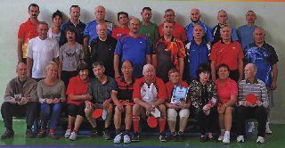 Спортсмены состязались в теннисе