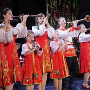 В Уссурийске в доме культуры «Юность» прошел краевой конкурс юных талантов «Хранители наследия России»