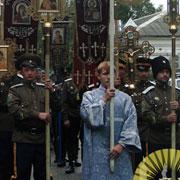 Крестный Ход прошел по улицам Уссурийска (14 фотографий)