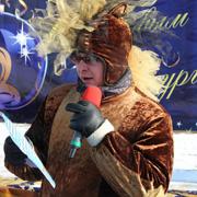 В Уссурийске состоялось закрытие зимнего городка (10 фотографий)