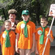 Школьников Уссурийска собрала зеленая карусель (17 фотографий)