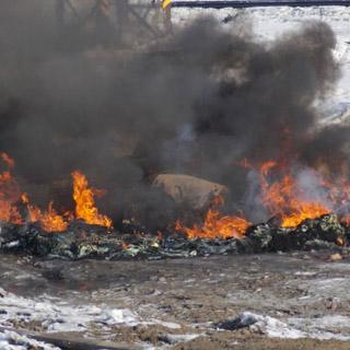 16 домов пострадали от сильного огня в Приморье