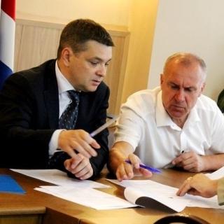 Экстренное заседание оперативного Штаба по ликвидации ЧС провел Евгений Корж