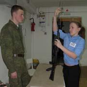 Лучших снайперов определили в Уссурийске (3 фотографии)