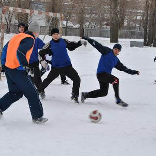 Зимние игры для жителей округа!