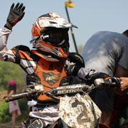 В Уссурийске прошли региональные соревнования по мотокроссу (26 фотографий)