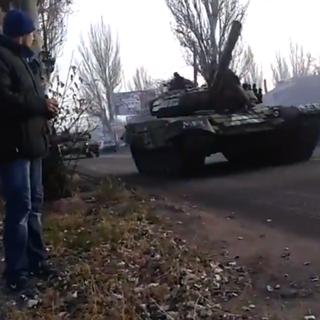 В Донецк стягивают украинскую военную технику
