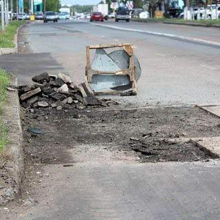Ремонтные работы на дорогах продолжаются в Уссурийске