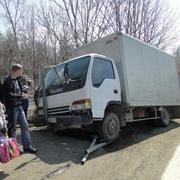 Плохое самочувствие водителя чуть не привело к катастрофе (2 фотографии)
