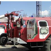 Смотр пожарной техники прошёл в Уссурийске (4 фотографии)