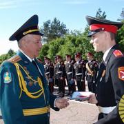 Уссурийское суворовское училище в 67-й раз проводило своих выпускников (8 фотографий)