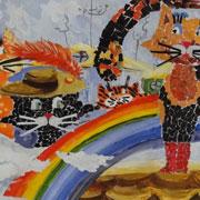 """Выставка рисунков """"Мир глазами детей"""" работает в Уссурийске (6 фотографий)"""