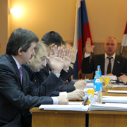 Уссурийские депутаты обсудили бюджет, налоги и бани  (10 фотографий)