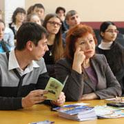 Форум в честь юбилея конституции РФ среди школьников состоялся в Уссурийске (5 фотографий)