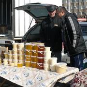 Ярмарки «выходного дня» все еще проходят в Уссурийске (5 фотографий)