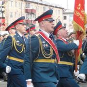 1500 военнослужащих приняли участие в параде Победы Уссурийска (75 фотографий)