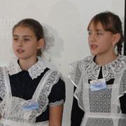 В школе №25 Уссурийска поздравили мам (7 фотографий)