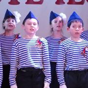 Юные уссурийцы исполнили песни «Во имя Победы, во славу Отечества» (9 фотографий)