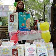 Акция по сбору подгузников в пользу Дома малютки прошла в Уссурийске (6 фотографий)