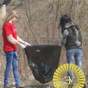Экологическая акция «Чистый берег» прошла в Уссурийске (8 фотографий)