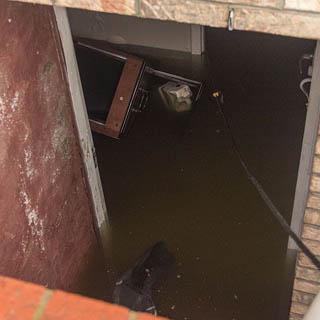 В Уссурийске ведутся работы по откачке воды