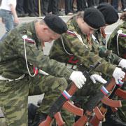 В Уссурийске определились победители и призеры «Зарницы» (34 фотографии)