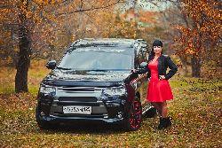 Анжелика Маева - Mitsubishi Outlander