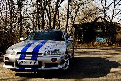 Крамар Данил - Nissan Skyline