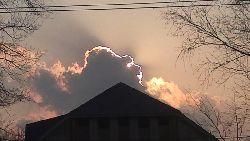 Редкий кадр-небо над Уссурийском улыбается