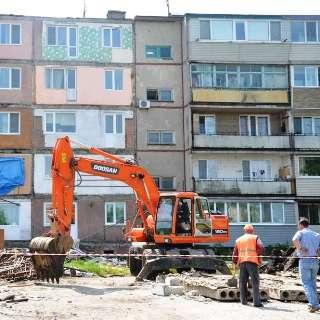 Жители дома на ул. Трудовой, 10, смогут вернуться в свои квартиры уже завтра утром