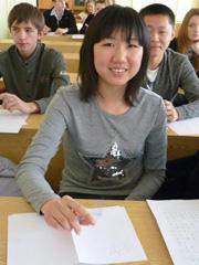Будущих абитуриентов ДВФУ в Уссурийске познакомили с восточными языками  (5 фотографий)